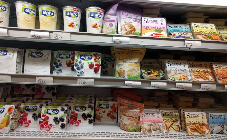 vegan cheese et simili-carnés à Pavi Market