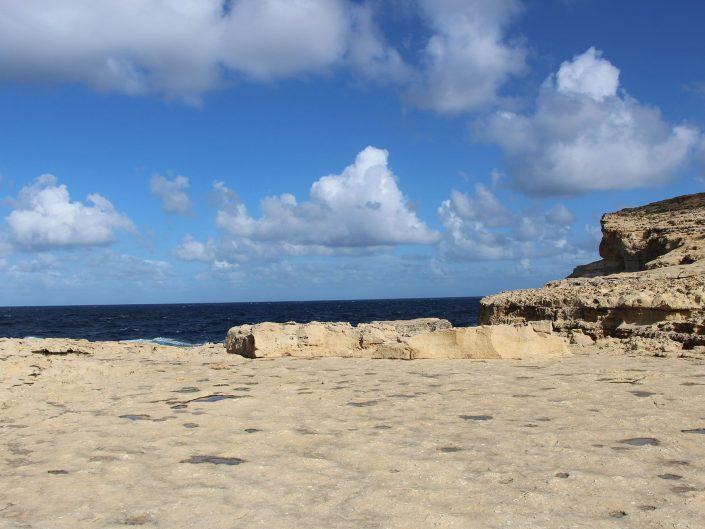 Plateau au pied de l'ancienne Azure Window