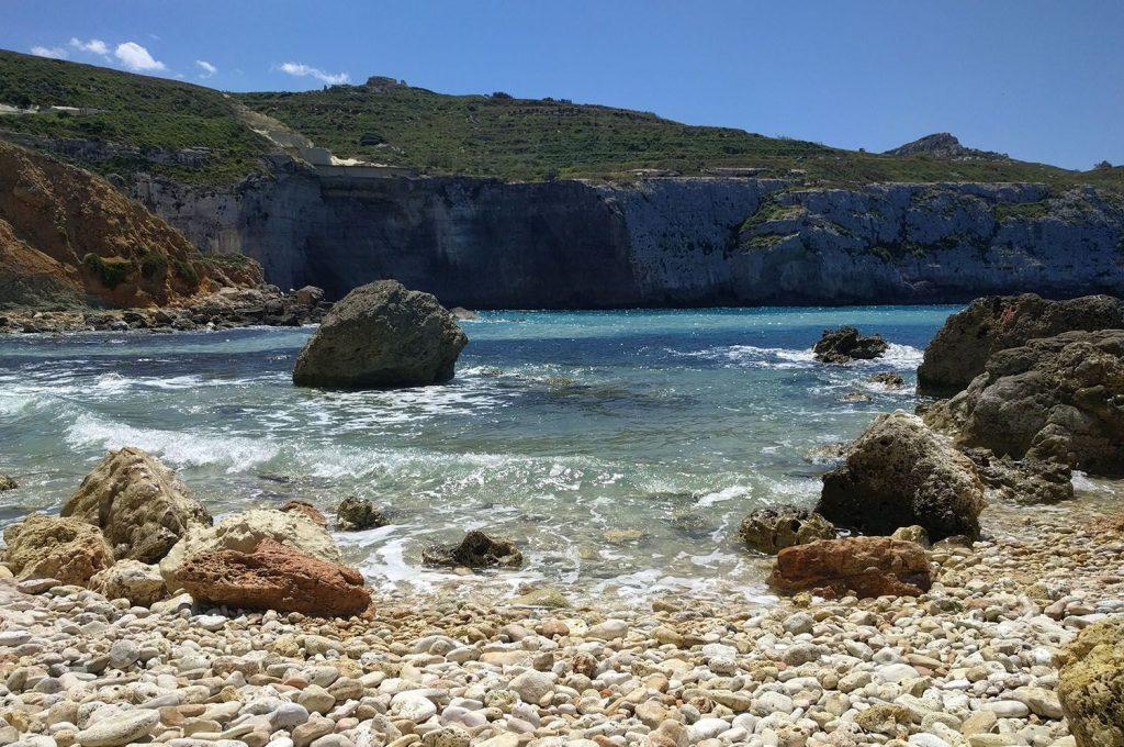 Baie de Fomm ir-Riħ, Malte
