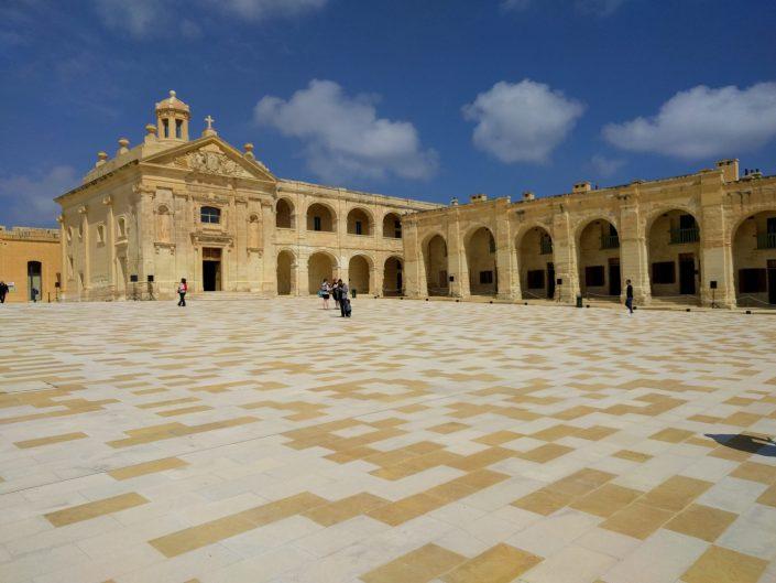 Fort Manoel sur l'île de Manoel à Malte