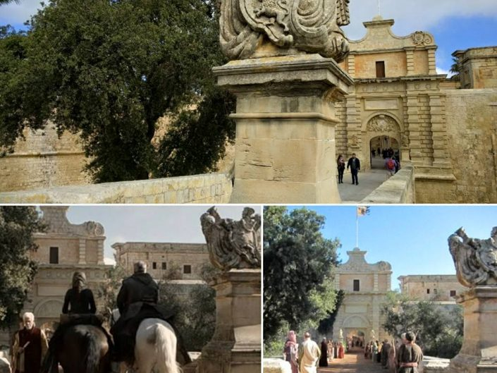 Game of Thrones à Mdina, Malte