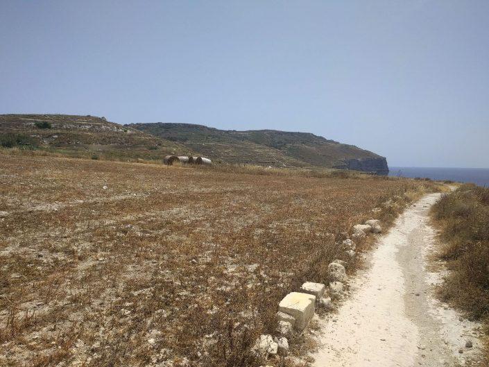 Mtahleb cliffs, Malte