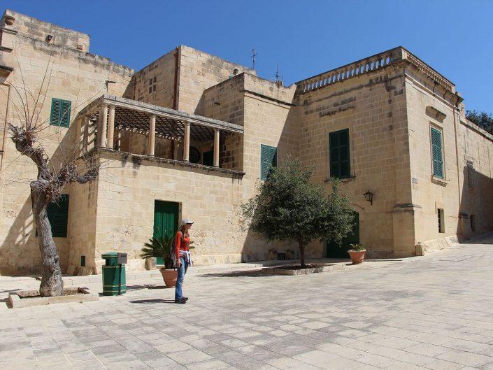 Piazza Mesquita, Mdina, Malte