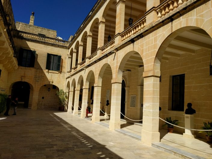 San Anton palace, Malte