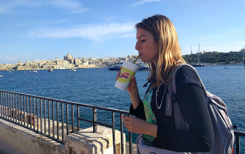 Jus de fruits frais de Dr Juice, Malte