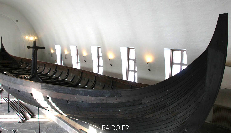 Bateau viking de Gokstad