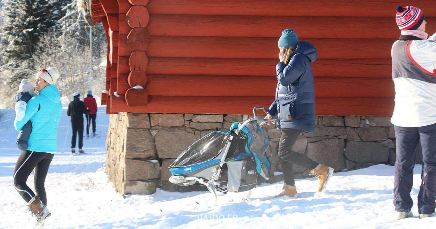 Poussette en ski Oslo
