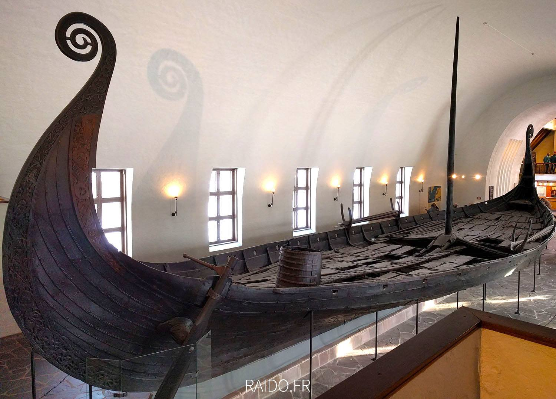 Bateau viking d'Oseberg