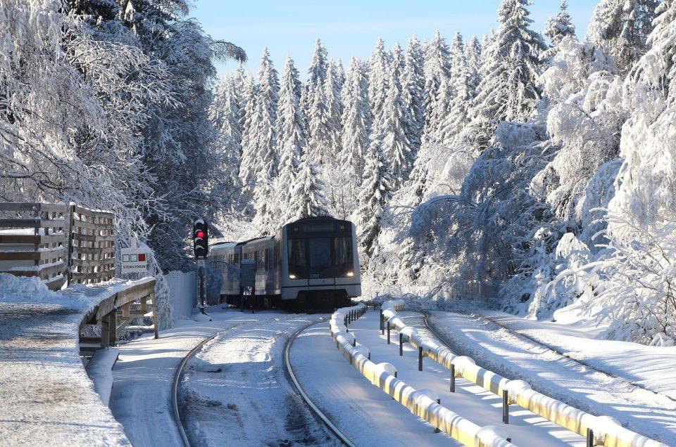 Oslo, aller au ski en métro