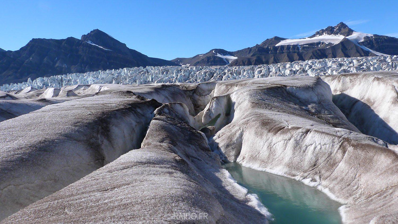 Glacier du Svalbard, Spitzberg