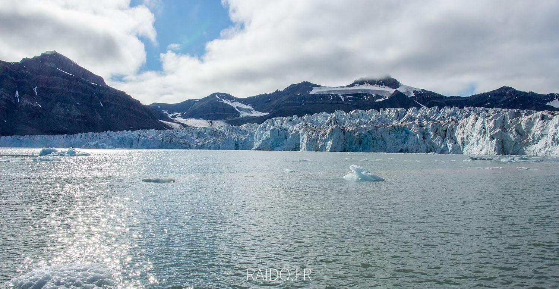 Glacier de Svéa, Spitzberg, svalbard