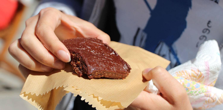 Vegan brownie de Gozo