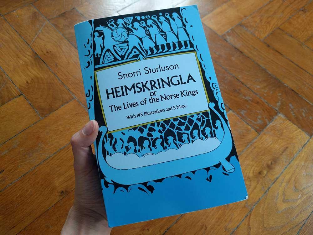 Heimskringla, saga islandaise de Snorri Sturluson
