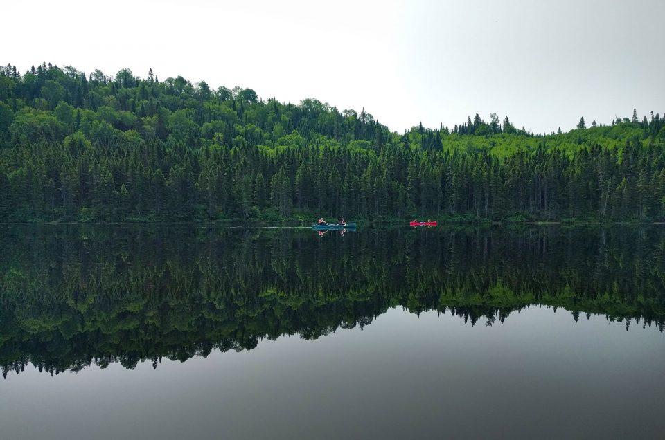 Faire du canoë au Canada